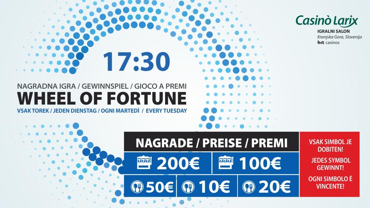 spletna wheel of fortune