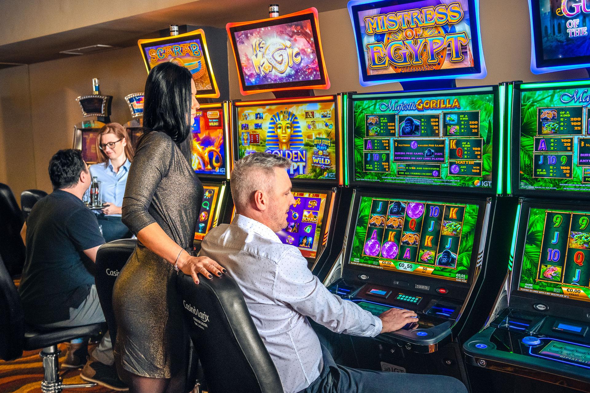 Igralni Salon Casino Tivoli Lesce